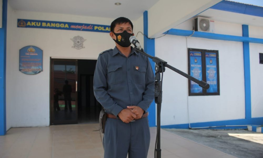 Perdana Menjabat, Kasat Intelkam Minta Dukungan Personel Polres Pasangkayu