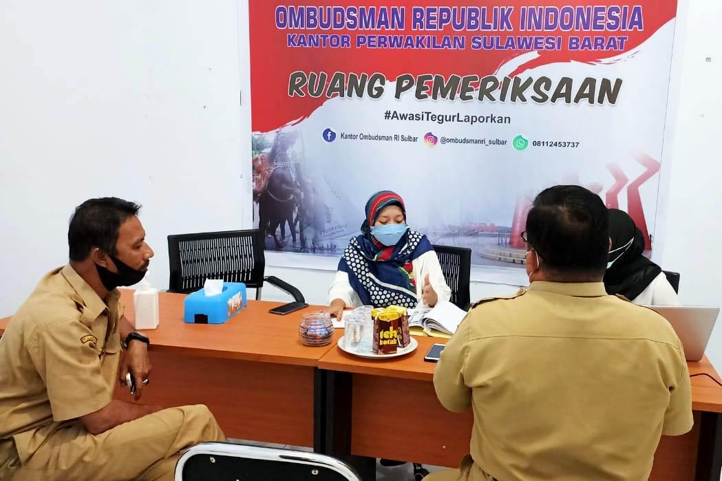 Ombudsman Sulbar Tutup Kasus Samsat Mamuju