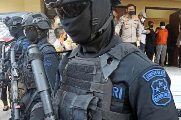 Terduga Teroris di Sulsel Tertangkap Tim Densus 88
