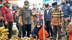 Gubernur Sulbar Sidak Pasar Jelang Lebaran