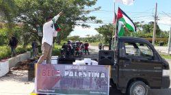 Polres Pasangkayu Kawal Aksi Bela Palestina