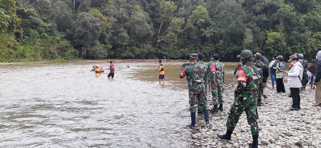 Basarnas Kembali Lanjutkan Pencarian di Sungai Messawa