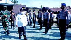 Bupati Majene Pimpin Apel Gelar Pasukan Operasi Ketupat Siamasei 2021