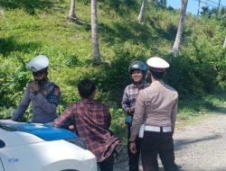 Melanggar, Puluhan Kendaraan Terjaring Razia di Karya Bersama