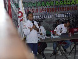 Tercepat, Dalam Hitungan Menit, Musda IOF Tetapkan Ado Mas'ud Ketua Umum 2021-2025