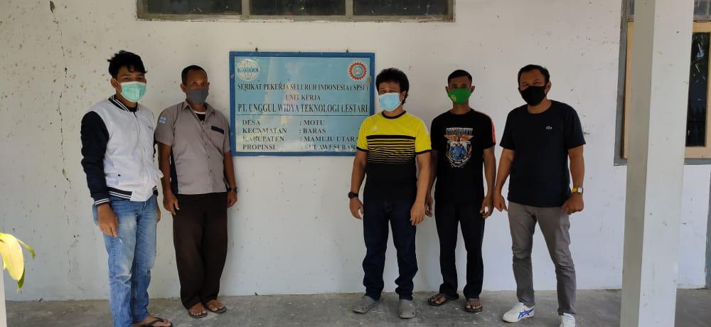 Polres Pasangkayu Jaga Sinergitas Dengan Serikat Pekerja PT.UWTL