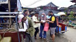 Pemuda, Komunitas dan Pelaku Usaha Bagikan 481 Box Makanan Bertepatan HUT Mamuju