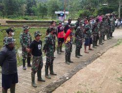 TMMD ke-112, Kodim 1428 Mamasa, Wujudkan Bakti Nyata TNI Membangun Desa