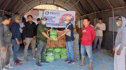 DPC Peradi Mamuju Bantu Korban Banjir di Kalukku