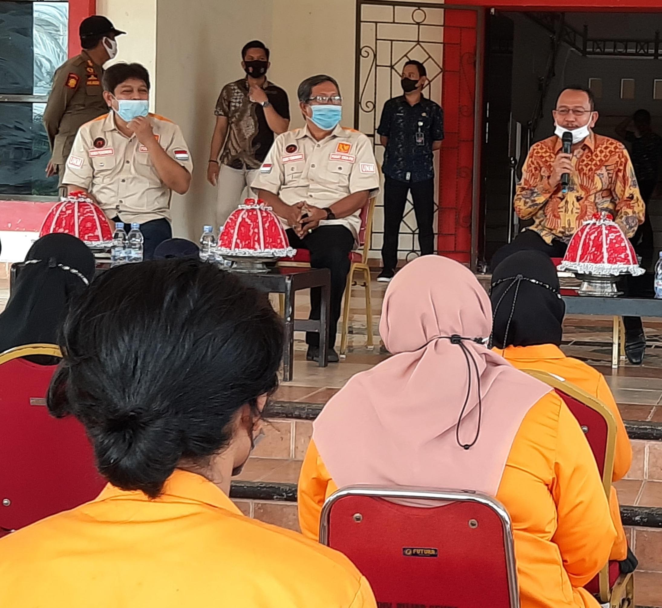 Bupati Pasangkayu Terima Mahasiswa KKN UNM Makassar